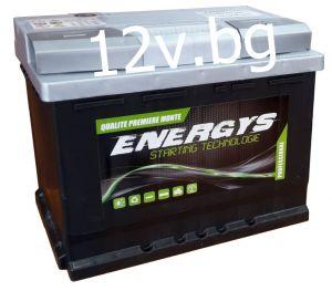 Акумулатор ENERGYS - 12/60 Ah R+