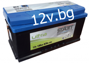 Акумулатор START Ultra - 12/100 Ah R+