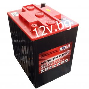 Акумулатор MONBAT MONOLIT POWER DEEP CYCLE 6V DC-240