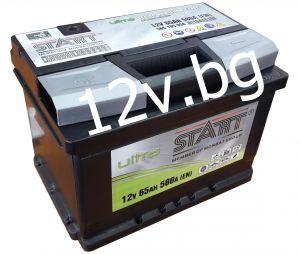 Акумулатор START Ultra - 12/65 Ah L+