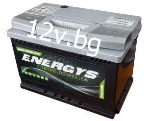 Акумулатор ENERGYS - 12/75 Ah R+