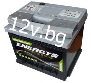 Акумулатор ENERGYS - 12/50 Ah R+