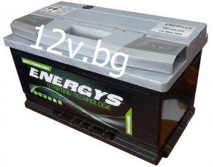 Battery ENERGYS - 12/80 Ah R+