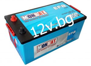 Battery 12/225 L - MONBAT EFB TRUCK