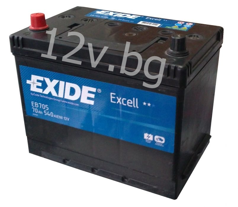 battery exide excell 70 ah l jis. Black Bedroom Furniture Sets. Home Design Ideas