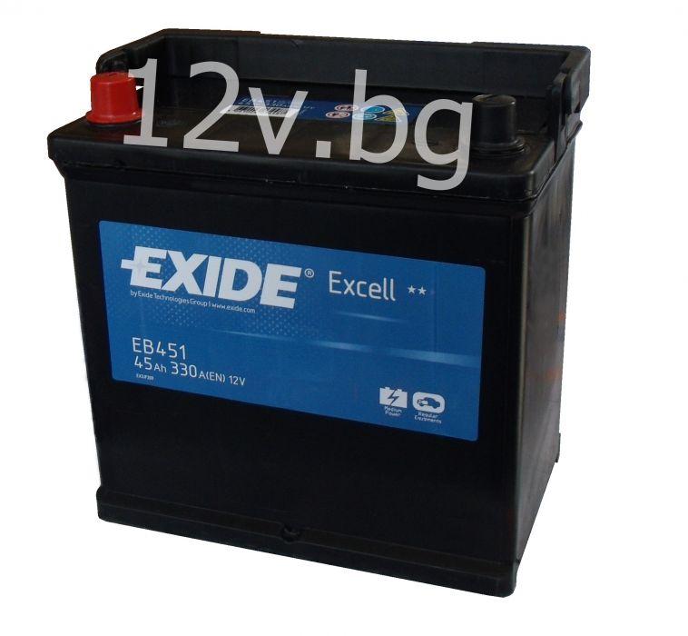 battery exide excell 50 ah l jis. Black Bedroom Furniture Sets. Home Design Ideas