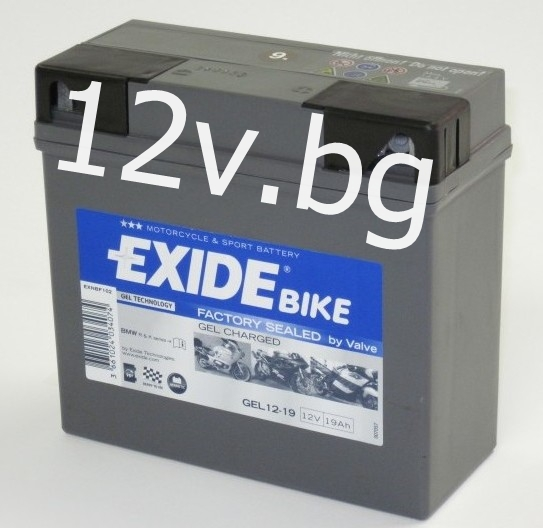 battery exide bike gel g 19. Black Bedroom Furniture Sets. Home Design Ideas