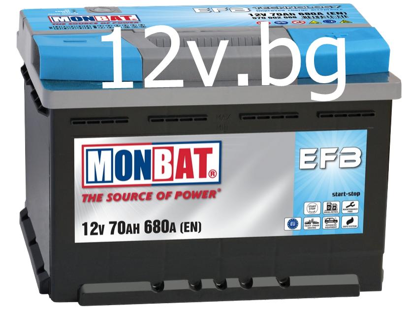 battery monbat efb start stop 80 ah r. Black Bedroom Furniture Sets. Home Design Ideas