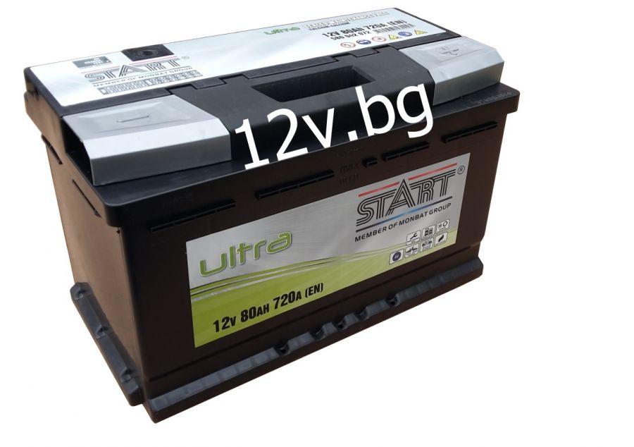 battery start ultra 12 80 ah r. Black Bedroom Furniture Sets. Home Design Ideas